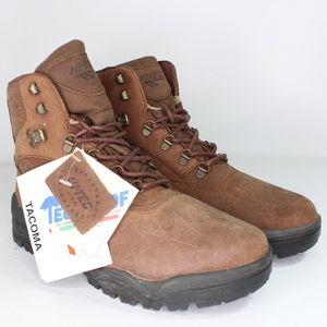 Vtg New Hi Tec Mens 9.5 Tacoma Hiking Boots Brown